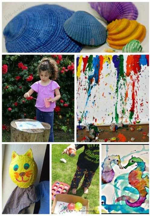 Let the kids enjoy the creative process this summer with these amazing art projects!