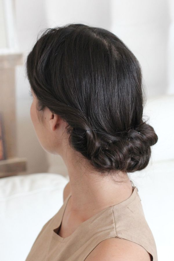messy fishtail updo_10