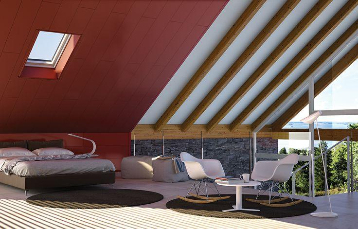 Dale color a los techos de tu hogar con los paneles - Paneles decorativos para techos ...