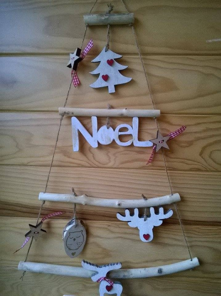 24 best Déco en bois pour NOEL images on Pinterest Diy christmas