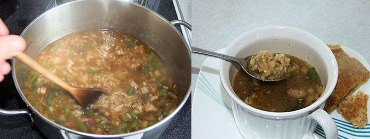 Cajun Turkey Soup