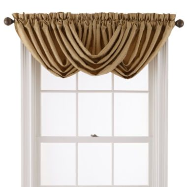 Sutherland Rod-Pocket Toga Valance  found at @JCPenney