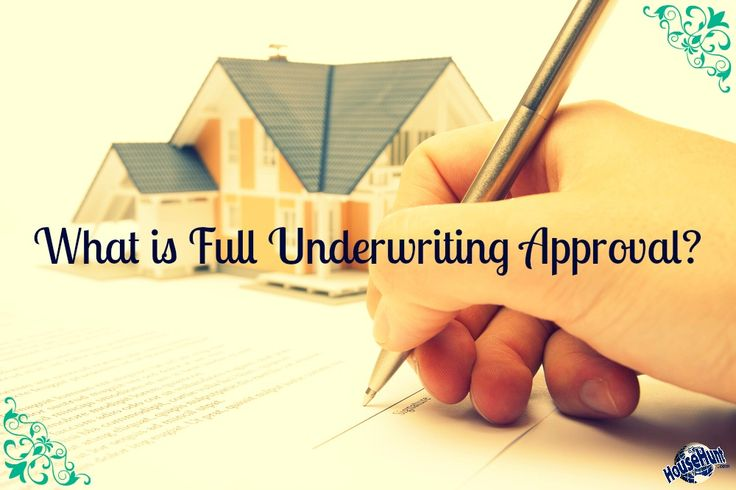 What is Full #Underwriting Approval? http://www.househunt.com/news-realestate/full-underwriting-approval/