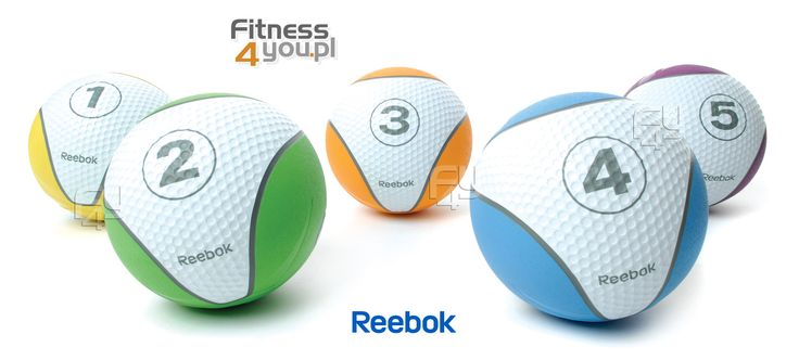 Piłki lekarskie Reebok Waga: 2 i 5 kg https://www.fitness4you.pl/pilka-lekarska-reebok-2-kg-zielona-re-21122,det,881.html