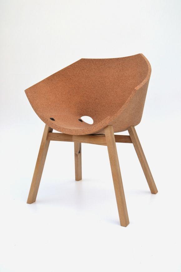 Corkigami Cork Chair by Carlos Ortega Design