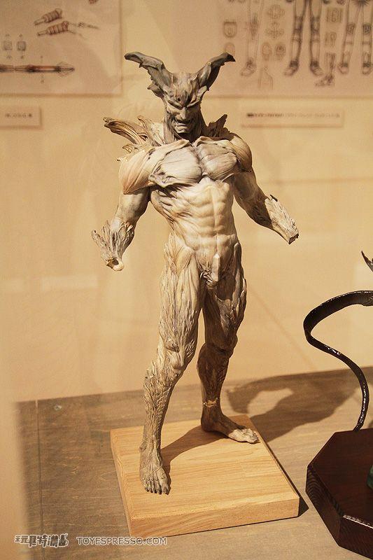 devilman sculpture   Takayuki Takeya Exhibition ...