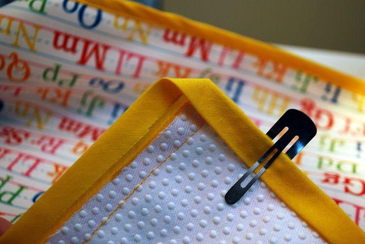 Cómo coser correctamente las esquinas de un bies