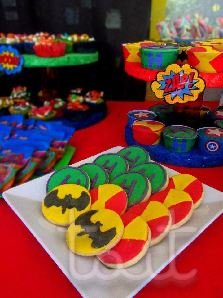 SuperHeroes  #Cookies #SuperHeroes #Batman #Hulk #Ironman