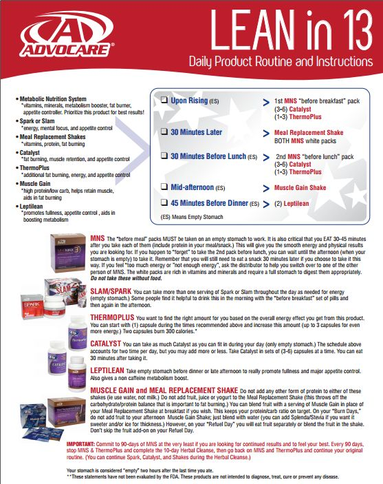 Lean in 13 product routine www.ugotspark.com