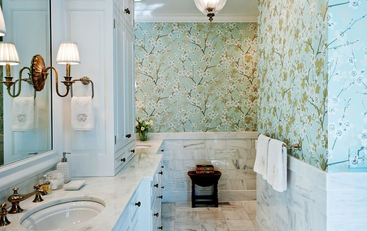 Bathrooms with feminine hint can be easily created and you can even transform an existing bathroom by simply adding the right accents and decor. Description from luxurytopics.com. I searched for this on bing.com/images