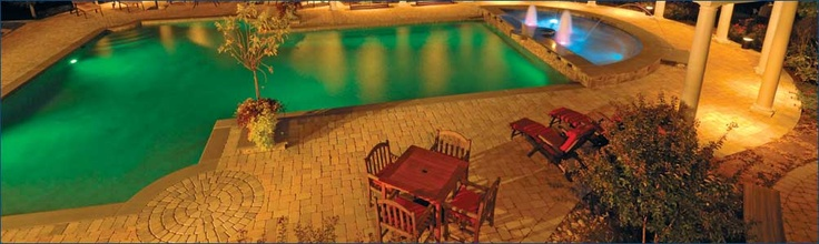 Yes please...the pool and the hanover pavers!