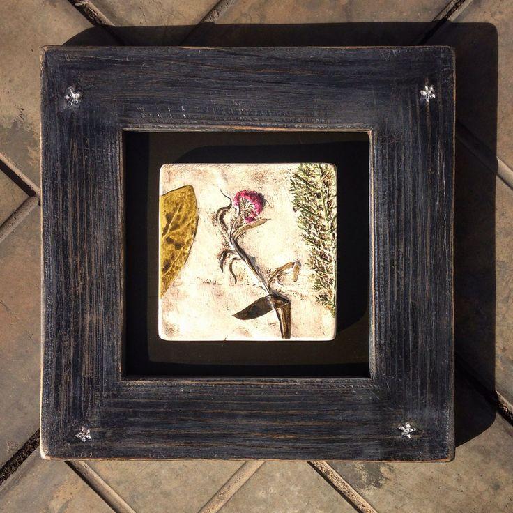 Купить Картинки в раме. Флористика. - картина цветов, деревянная рама, арт-объект, оттиски растений