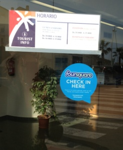 Reclamar un lugar en Foursquare. La importancia de Geolocalizar tu empresa: http://ow.ly/9mcKE