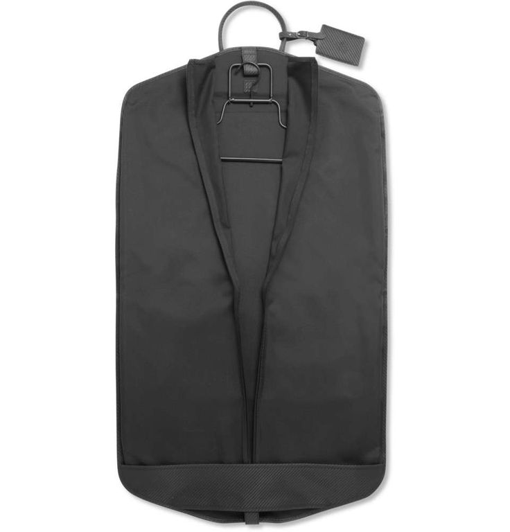 Dunhill Chassis Leather-Trimmed Suit Carrier