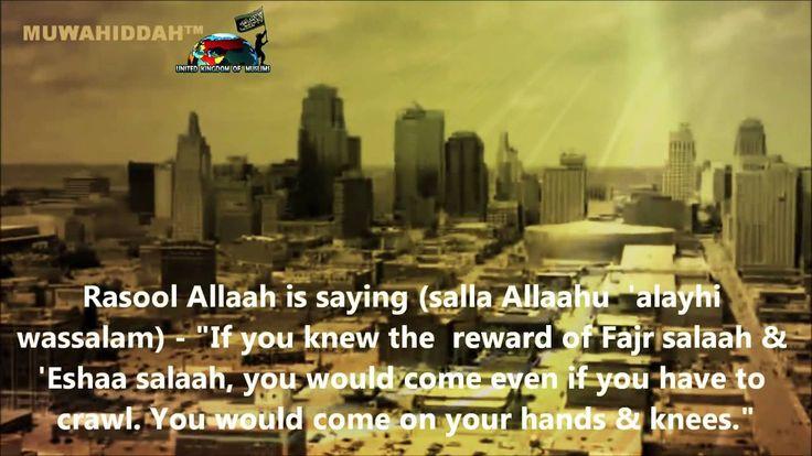 Do not miss FAJR Salah - Reminder - Omar El-Banna #UKOMuslims