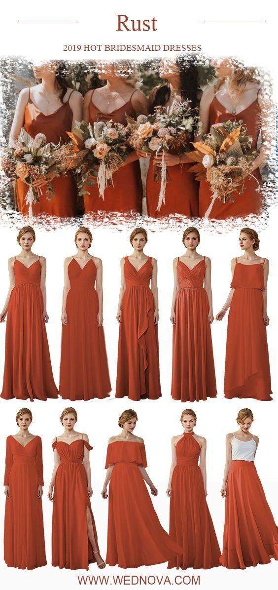 15+ Rust colored bridesmaid dresses ideas info
