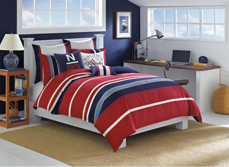 Relax in all American comfort with our soft yet bold duvet and shams  King  Comforter SetsDecor. 369 best Bed and bath images on Pinterest   Window treatments
