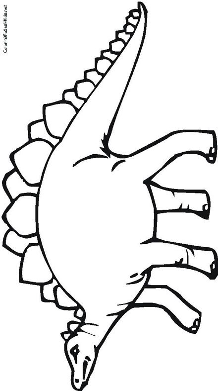 dinosaur outline coloring pages - photo#49