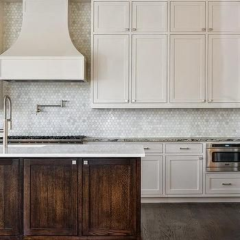 Carara Marble Beehive Tile Backsplash Kitchen Google