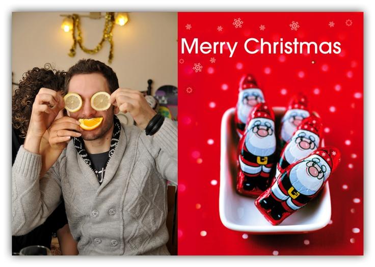 Christmas personal card