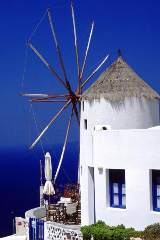 Bodrum, Turkey. Discover enchanting windmills, painted in white and perched over the famous crystal blue waters of the coastline. #WBestCruises