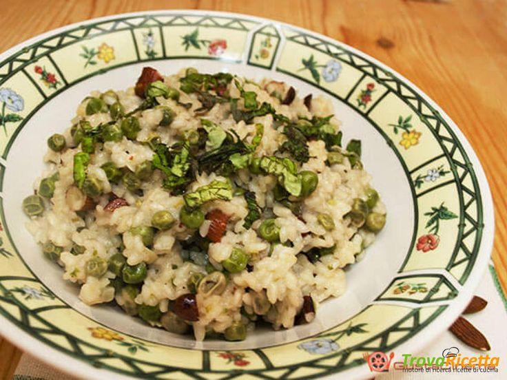 Insalata di riso piselli e mandorle  #ricette #food #recipes