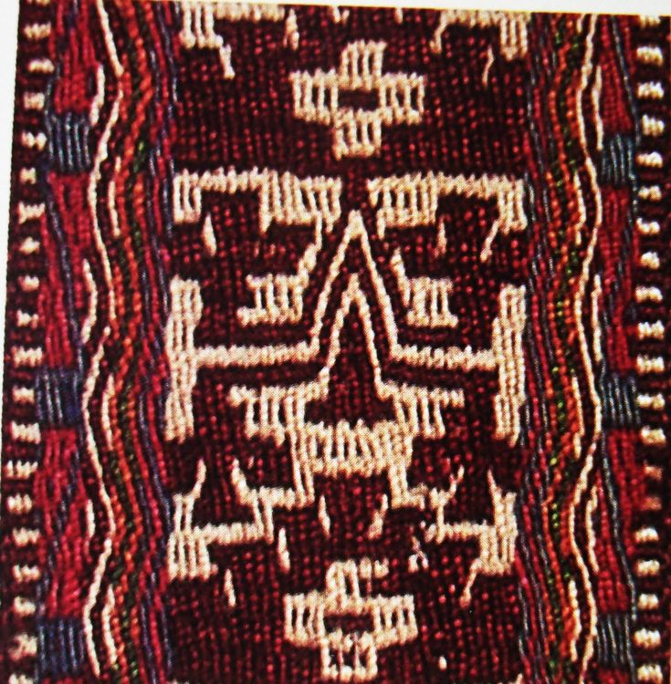Aprendiendo Vida: Simbología de textiles mapuches