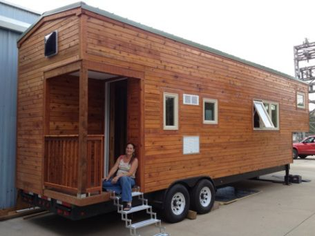 10 best tiny house gooseneck images on pinterest tiny house living small houses and tiny homes. Black Bedroom Furniture Sets. Home Design Ideas