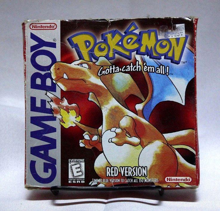 Pokemon Red Gameboy Color GBC Complete CIB Free Shipping Nintendo