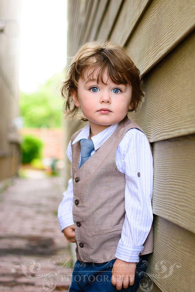 Adorable little boy photography