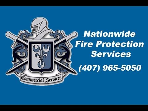 Nationwide Fire Protection Maintenance and Repairs Florida (407) 965-5050 Commercial Services is the SOLUTION for all your Fire Protection and Life Safety Ne...