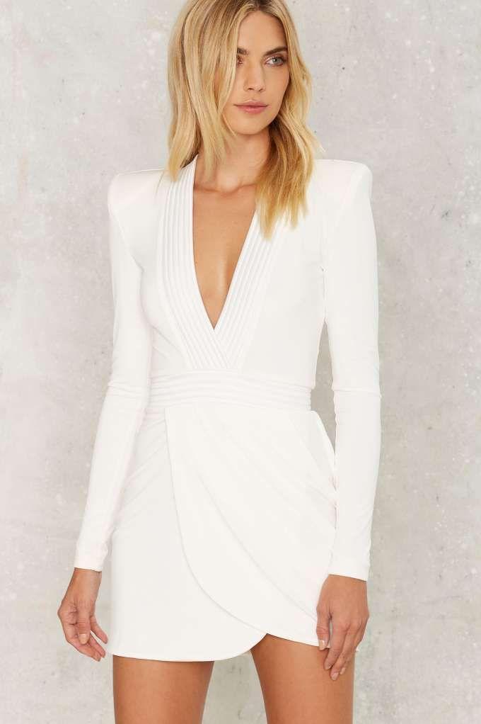 Zhivago Eye of Horus Mini Dress - Clothes | Metallics | Last Chance | Cocktail Dresses | White Dresses