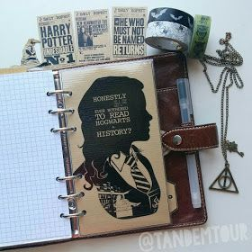 Filofax Dekoration Hauptthemen: Washitapes, Harry Potter, Maritim/Nautical, Filofax Malden, Fotografie ❤