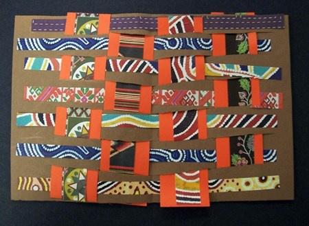 Kente Cloth By First Grade African Art Pinterest