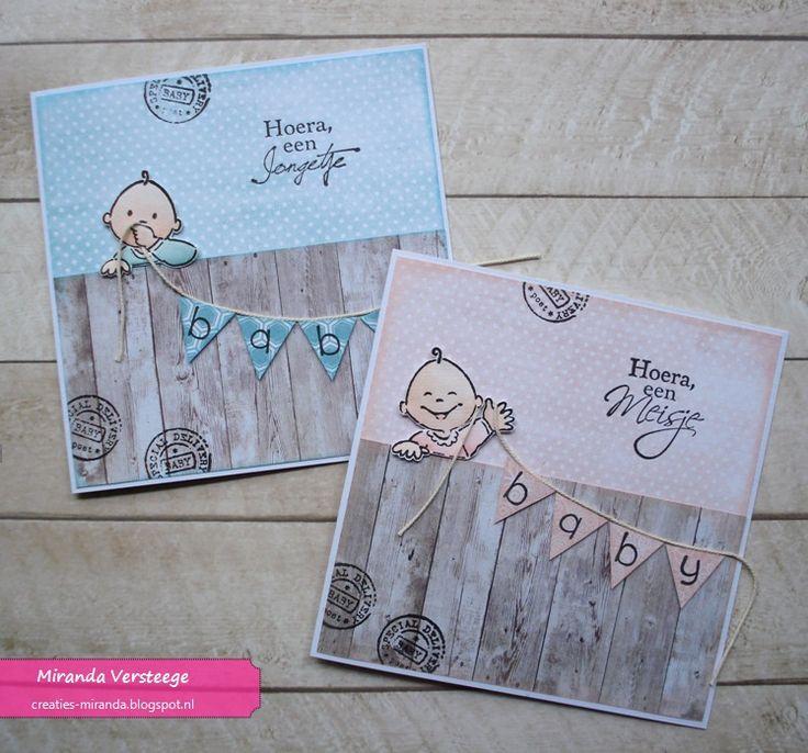 Miranda's Creaties: Babyvlaggetjes