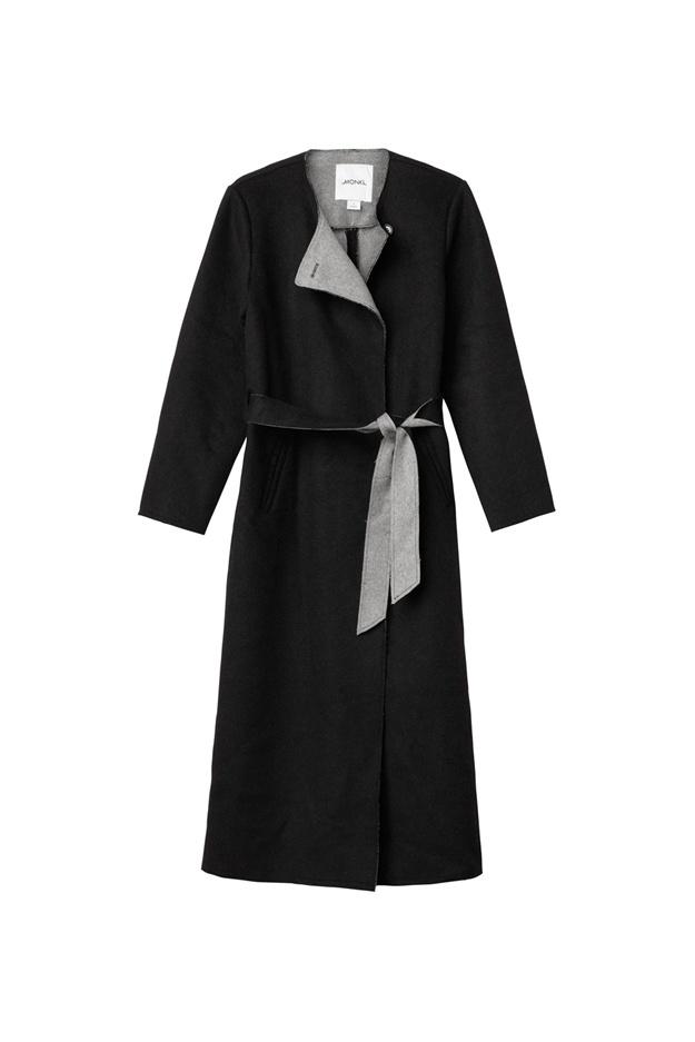 Trinity coat | Monki | £80 - it's wool but I like it