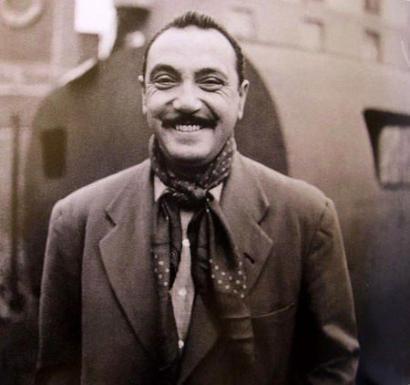 Django Reinhardt (we couldn't find photo credit, please let us know if you know)