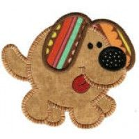 Round Up The Critters Applique