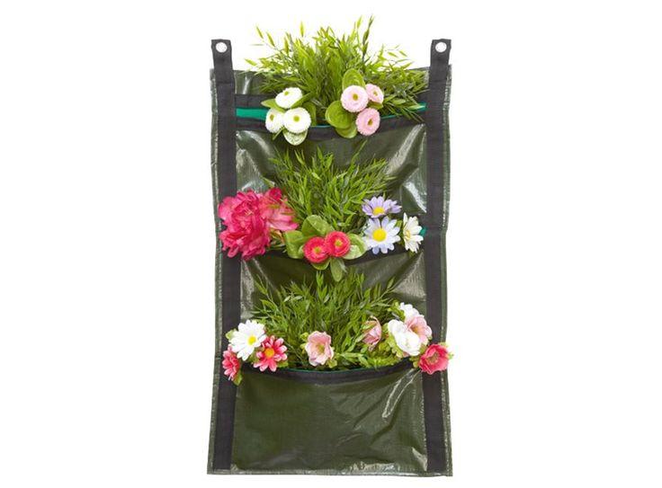 Ben jij gek op planten en bloemen maar heb je weinig ruimte in je tuin of op je balkon om ze neer te zetten? Dan is dit de oplossing: deze plantentas kun je eenvoudig ophangen en er is volop ruimte voor kleurrijke planten en bloemen!