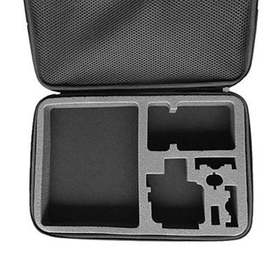 TELESIN Action Camera Storage Bag Dual Zippers Design Produced of nylon, practical and durableDouble zippers designSponge inside, keep your accessories in a good place Note:Accessories showed in the photos are not included in the package. Apply to Brand :Dazzne, Gopro, Xiaomi, SJCAM, GitUp, Amkov, Discovery, Soocoo, FIREFLY, Eken|Compatible with :Discovery DS100, GoPro Hero Series, EKEN …