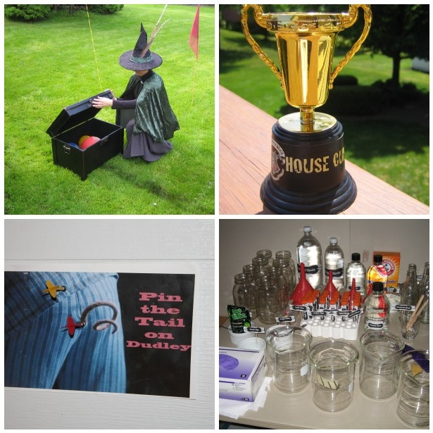 Feel LOVD Everyday: What I Made Wednesday {A Harry Potter Birthday Party: The Props}