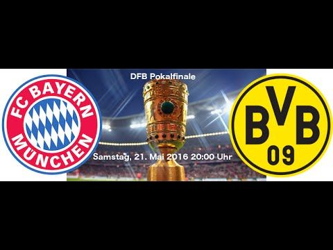 DFB Pokal Finale 2016  HD komplett  Bayern München gegen Dortmund