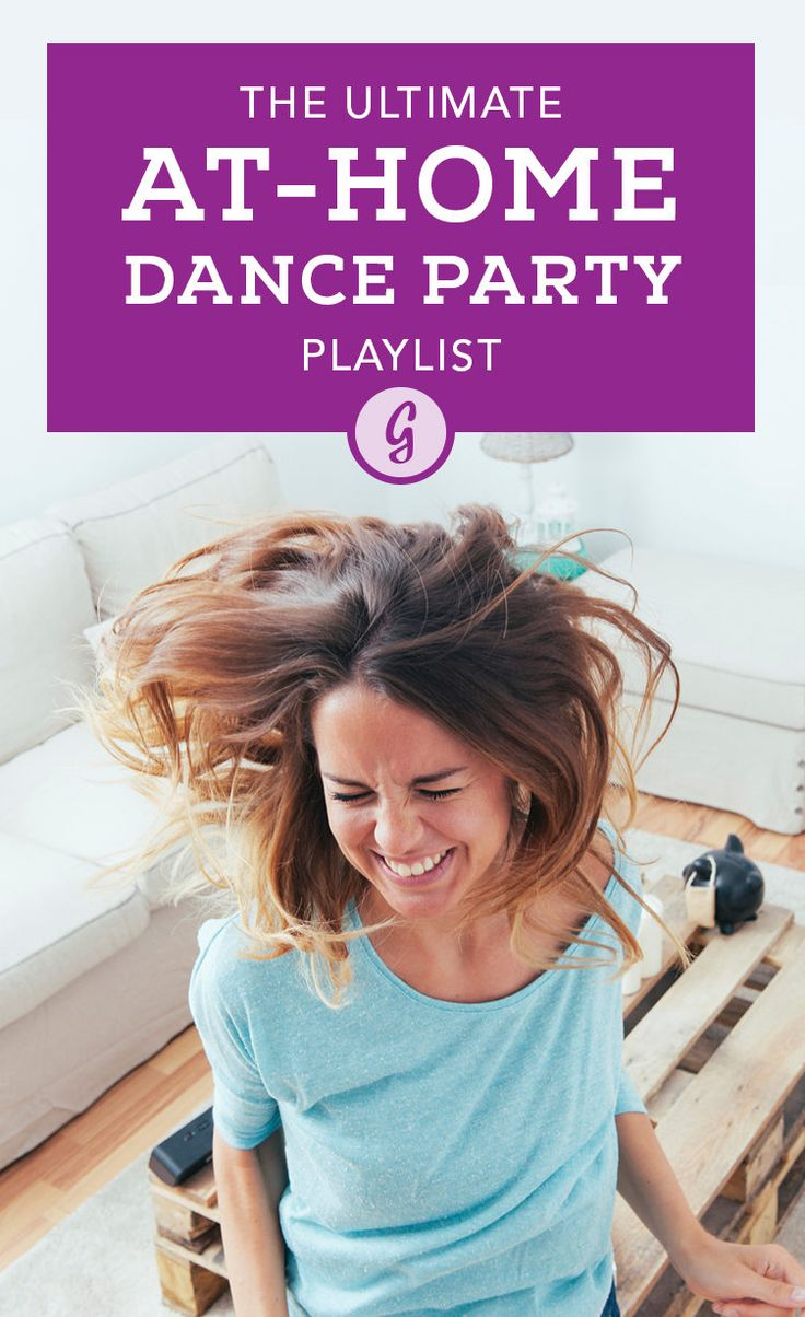 Whether you're dancing on your own at home, providing the tunes for a fun gathering, or looking for something to brighten your mood, this playlist will make you dance until the sun goes down. #dance #playlist #music http://greatist.com/play/ultimate-dance-party-playlist