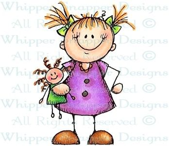 Emma - Children - Rubber Stamps - Shop
