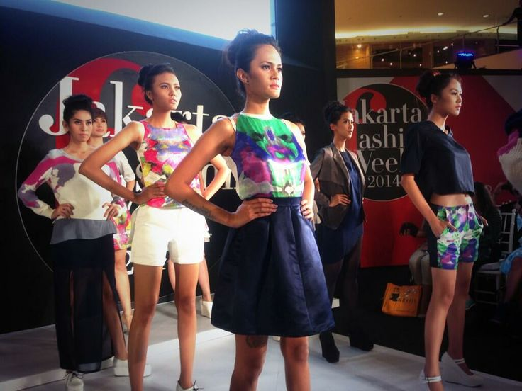 Closing at 4th runway show at JFW.