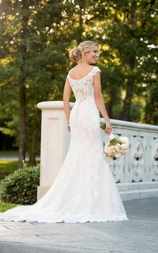 6517 Modern Lace Mermaid Wedding Dress By Stella Yorkessensedesigns