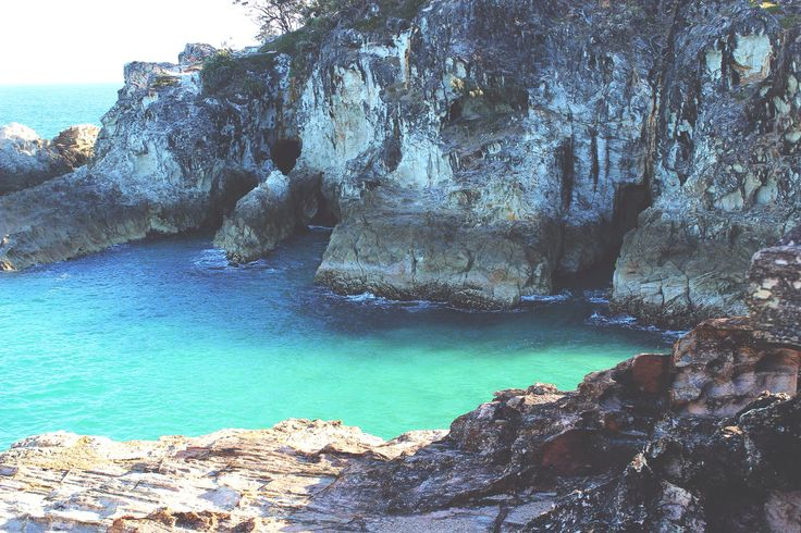 North Gorge on North Stradbroke Island, Australia