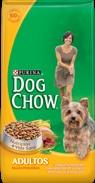 Purina Dog Chow Adultos Razas Pequeñas. Tu perro es único. Su pequeño cuerpo ya creció y le fascina estar activo con tu familia. Es por eso que merece un alimento que nutra todo lo que lo hace tan especial. Purina Dog Chow Adultos Razas Pequeñas está específicamente formulado con los nutrientes e ingredientes de calidad que lo ayudarán a tener salud y vitalidad por muchos más años.  Compra online desde http://jardinesalsur.com.ar/?page_id=118
