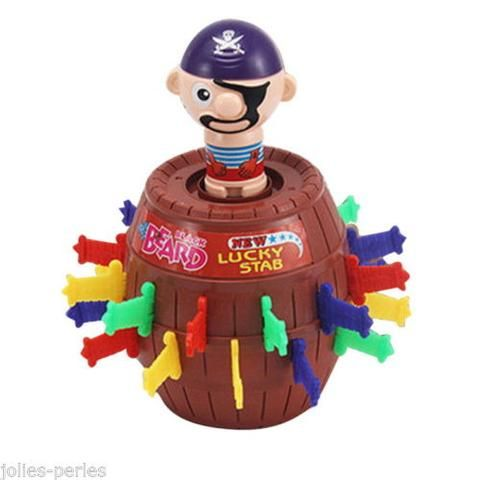 JP New Running Man Pirate Party Toys Uncle Game Pirates Pirate Barrel Toys