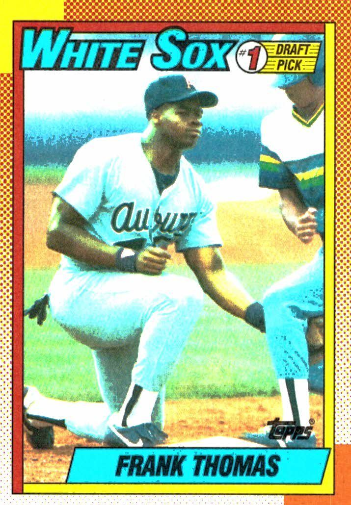 5ff509ac0 Buy 1990 Topps Frank Thomas Rookie Card Chicago White Sox at JM ...
